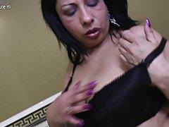 stari azijski mama seks