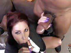 Slutty lezbijski porno